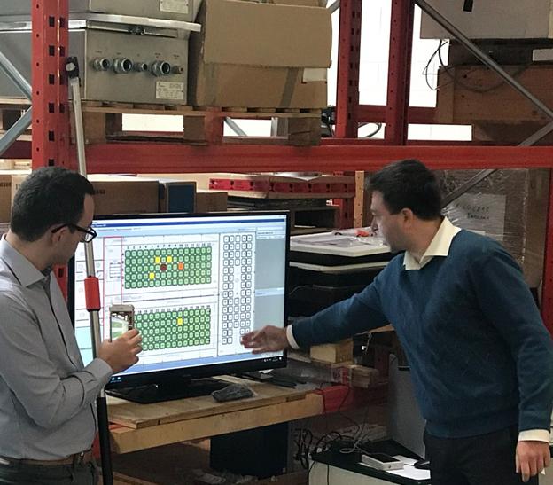 Заводские приемочные испытания системы учета и контроля на основе RFID меток (ноябрь 2017 года) в рамках проекта технической помощи по строительству временной накопительной площадки переработанных РАО на ПВХ в губе Андреева
