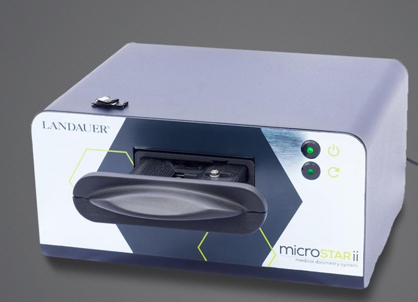 Клиническая дозиметрическая система microSTAR-ii